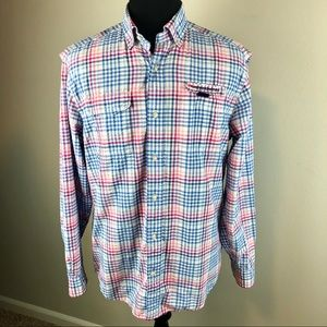 Vineyard Vines Harbor Shirt Vented Mens M